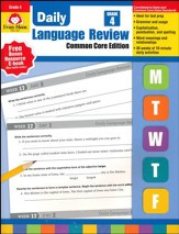 Daily Language Review, Grade 4 (2015 Revised Edition)