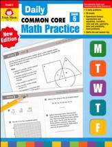 Daily Math Practice:Common Core Edition, Grade 6 Edition