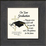 On Your Graduation Framed Print