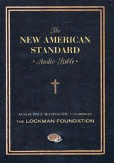 The NASB Bible on MP-3 CD