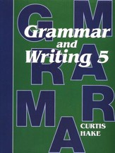 Hake's Grammar & Writing Grade 5 Student Text, 1st Edition