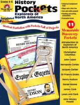 Explorers of North America, Grades 4-6