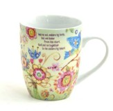 God Made Us Sisters by Heart Mug
