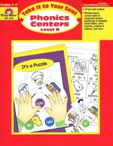 Phonics Centers: Take It to Your Seat, Grades 2-3