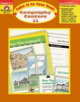 Take It to Your Seat: Geography  Centers, Grade 3-4