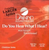 Do You Hear What I Hear? Accompaniment CD  - Slightly Imperfect