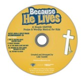 Because He Lives, Split-Track, Accompaniment CD