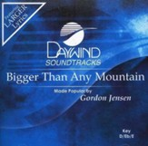 Bigger Than Any Mountain, Accompaniment CD