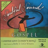 I Found Love (Cindy's Song), Accompaniment CD