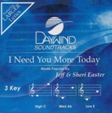 I Need You More Today, Accompaniment CD