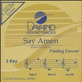 Say Amen, Accompaniment CD