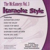 McKameys, Vol. 3, Karaoke CD