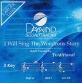 I Will Sing The Wondrous Story, Acc CD