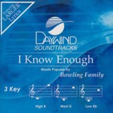 I Know Enough [Music Download]