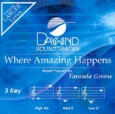 Where Amazing Happens, Accompaniment CD