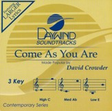 Come As You Are, Accompaniment CD