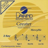 Greater, Accompaniment CD