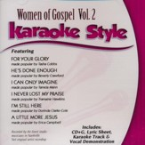 Women of Gospel, Vol. 2, Karaoke CD