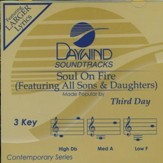 Soul On Fire, Accompaniment CD
