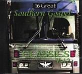 16 Great Southern Gospel Classics, Volume 2 CD