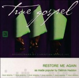 Restore Me Again, Accompaniment CD