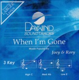 When I'm Gone, Accompaniment CD  - Slightly Imperfect