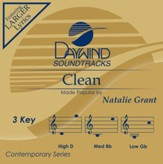 Clean, Accompaniment CD