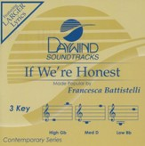 If We're Honest, Accompaniment CD