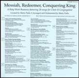 Messiah, Redeemer, Conquering King (Split-Track Accompaniment)