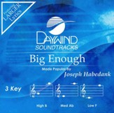 Big Enough, Accompaniment CD