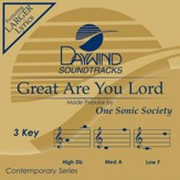 Great Are You Lord, Accompaniment CD