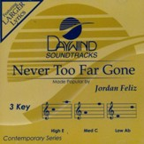 Never Too Far Gone, Accompaniment CD