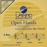 Open Hands, Accompaniment CD