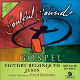 Victory Belongs to Jesus, Accompaniment CD