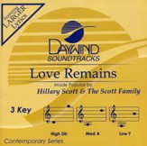 Love Remains, Accompaniment CD