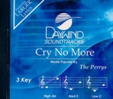Cry No More, Accompaniment CD