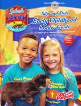 Splash Canyon: Slip and Slide Early Childhood Guide CD