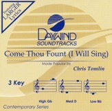 Come Thou Fount (I Will Sing), Accompaniment Track