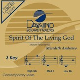Spirit of the Living God, Accompaniment Track