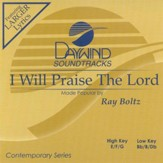 I Will Praise The Lord, Accompaniment CD