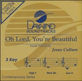 Oh Lord, You're Beautiful, Accompaniment CD