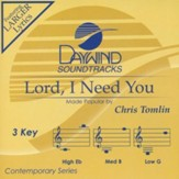 Lord, I Need You, Accompaniment CD