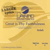 Great is Thy Faithfulness, Accompaniment CD