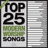 Top 25 Modern Worship Songs (Green)--2 CDs