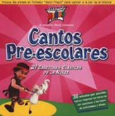 Cantos Pre-Escolares  (Pre-School Songs), CD