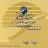 I Could Sing of Your Love Forever, Accompaniment CD