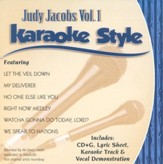 Judy Jacobs, Volume 1, Karaoke Style CD