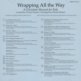 Wrapping all the Way, Split-Track Accompaniment CD