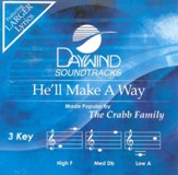 He'll Make A Way, Accompaniment CD