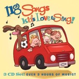118 Songs Kids Love to Sing! 3 CD Set